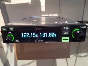 De nieuwe frequenties van EHBD (Budel) en EHEH (Eindhoven Tower) op het display